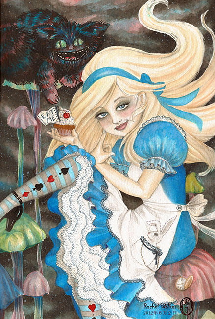 Alice - Canvas Giclee
