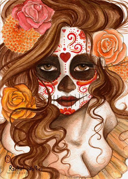 Beautiful Death - Canvas Giclee
