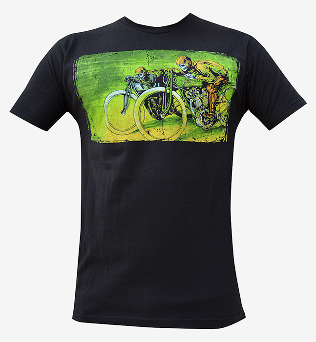 Mens Board Track Racers Tee