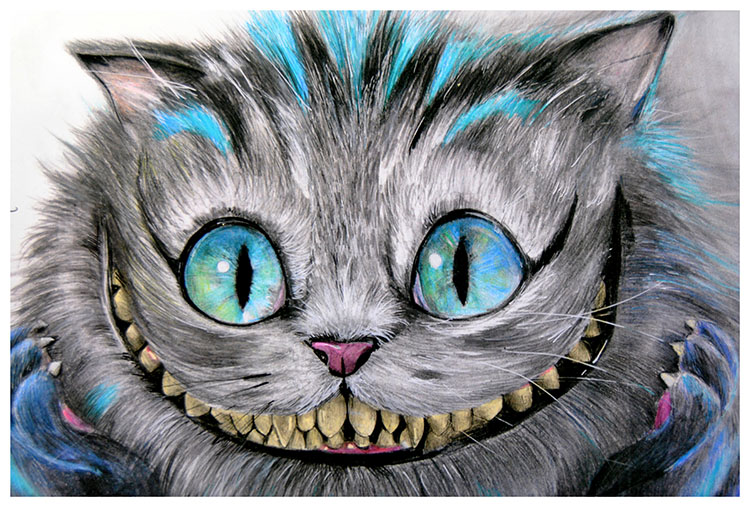 Cheshire Cat - Fine Art Print
