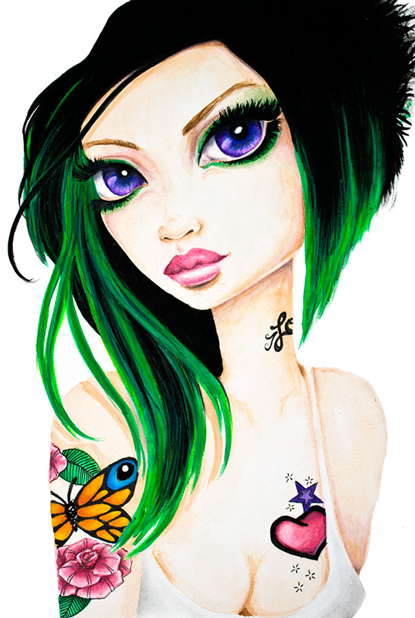 Emerald - Canvas Giclee