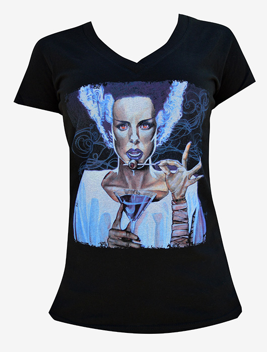 Womens I Put A Spell On You - V Neck Tee
