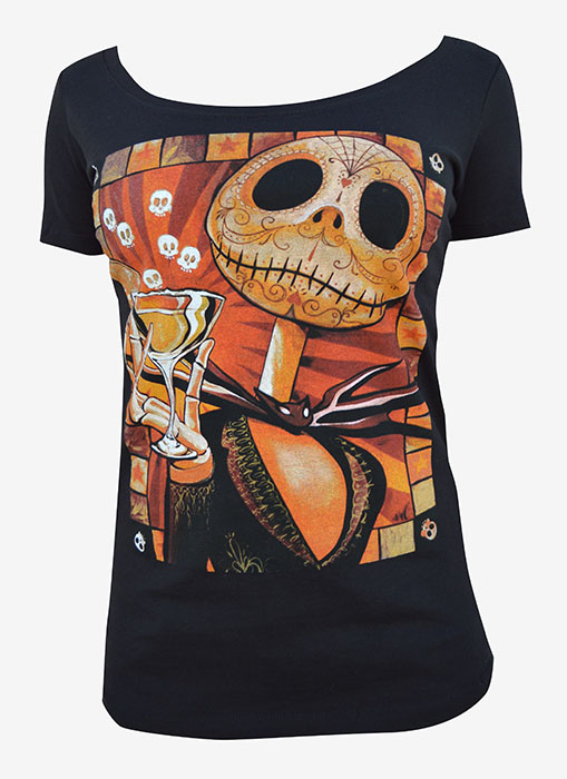 Womens Jack Celebrates Scoop Neck Tee
