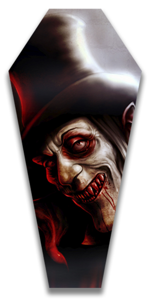 London After Midnight - Canvas Coffin Giclee