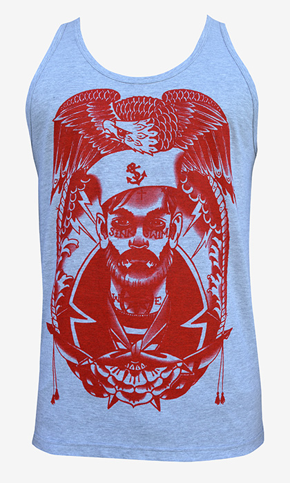Mens Sink Or Swim Tank Top