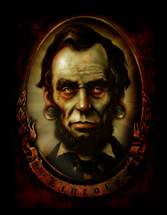 Abraham Lincoln - Canvas Giclee