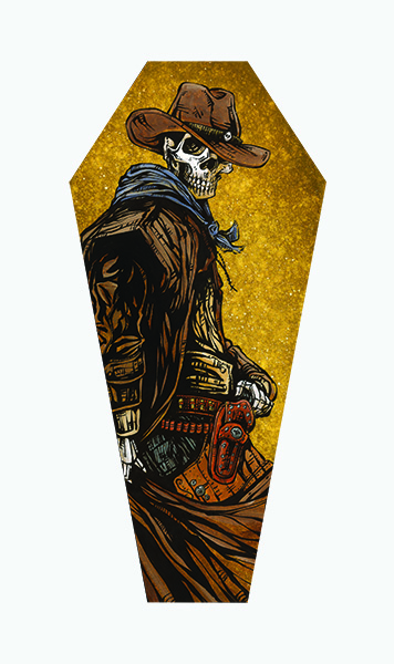 Cross Draw - Coffin Canvas Giclee