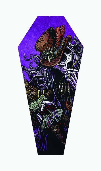 Voodoo Priest - Canvas Coffin Giclee
