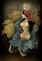 Gypsy - Limited Edition Canvas Giclee