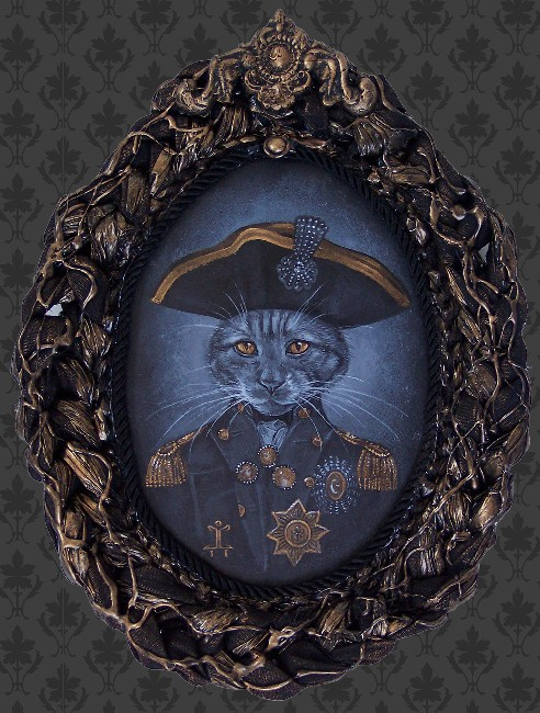 Admiral Coozington - Canvas Giclee - Click Image to Close