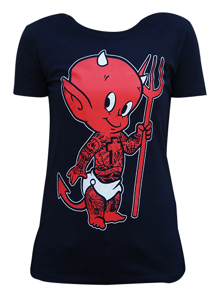Womens Lil Devil Loose Tee