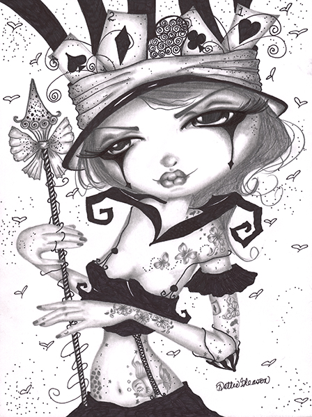 Sweet Alice - Canvas Giclee