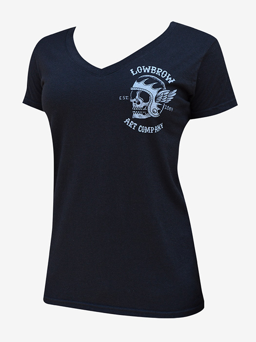 Womens Fury Road V-Neck Tee - Click Image to Close
