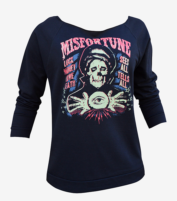 Womens Misfortune - Unfinished Sweatshirt